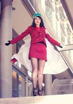Cosplay-Cover: Admiral Akainu (female)