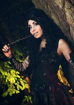 Cosplay-Cover: Bellatrix Lestrange