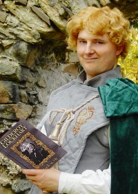 Cosplay-Cover: Gilderoy Lockhart Duelloutfit