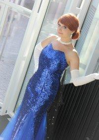 Cosplay-Cover: Anastasia [blue dress]