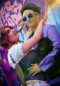 Cosplay-Cover: Johnny Gat [Saint's Row - Gat out of Hell)