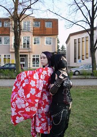 Cosplay-Cover: Altes Japan