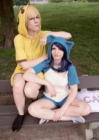 Cosplay-Cover: Pikachu [Kigurumi]
