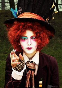 Cosplay-Cover: Mad Hatter (Steampunk)