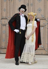 Cosplay-Cover: Prinzessin Serenity (Low-Budget-Version)