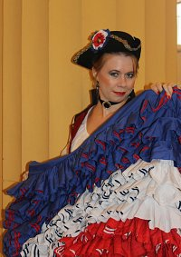 Cosplay-Cover: Liberty (Moulin Rouge)