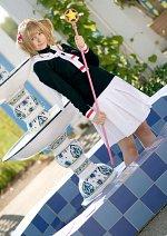 Cosplay-Cover: Card Captor Sakura (Schuluniform)