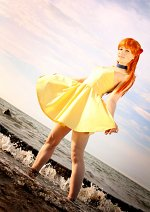 Cosplay-Cover: Asuka Langley Soryu [Yellow Dress]