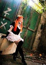 Cosplay-Cover: Asuka Langley Soryu [Gothic Lolita]