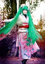 Cosplay-Cover: Hatsune Miku [Kimono]