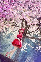 Cosplay-Cover: Morgiana [Red Dress]