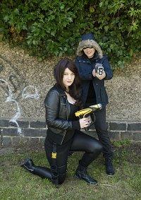 Cosplay-Cover: Golden Glider/Lisa Snart (CW)