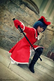 Cosplay-Cover: Spinell (Rote Uniform)