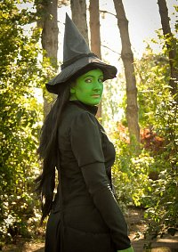 Cosplay-Cover: Elphaba - Smaragdstadt