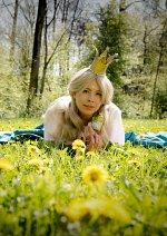 Cosplay-Cover: Prinzessin mit dem goldenen Stern