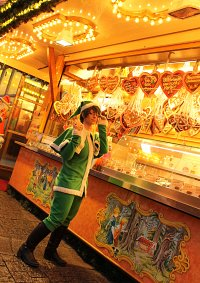 Cosplay-Cover: Shintarō Midorima [Christmas]
