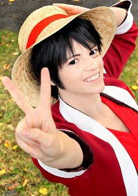 Cosplay-Cover: Monkey D. Ruffy [Alabasta]