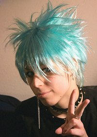 Cosplay-Cover: Shin (Bd. 6 Gammel/Probenoutfit)