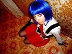 Cosplay-Cover: Yukiko (Schooluniform)
