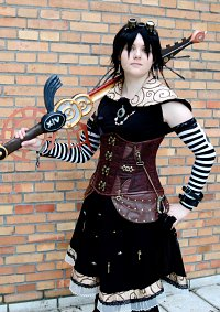 Cosplay-Cover: Xion (Steampunk)