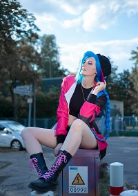 Cosplay-Cover: Jinx [Skater]