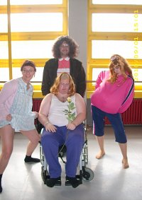 Cosplay-Cover: Andy aus Little Britain