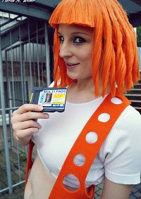 Cosplay-Cover: Leeloo Dallas