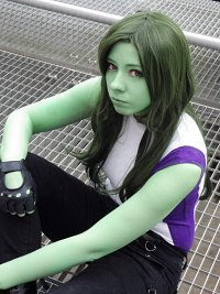 Cosplay-Cover: She-Hulk