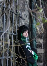 Cosplay-Cover: Tom Marvolo Riddle  (Winterversion Jung)