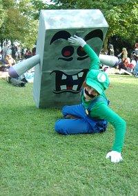 Cosplay-Cover: Luigi (Rohrversion)