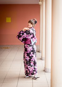 Cosplay-Cover: lila Yukata
