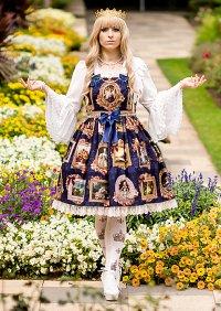 Cosplay-Cover: Inori: The Maiden of Versailles JSK