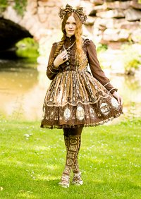Cosplay-Cover: AP Cameo Window (brown)