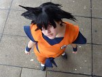 Cosplay-Cover: Son-Goku