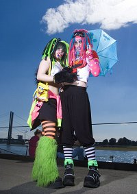 Cosplay-Cover: Cybermonster