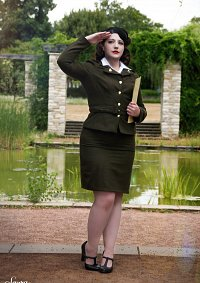 Cosplay-Cover: Margaret Elizabeth Carter 'Peggy' [ Captain Americ