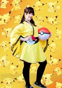 Cosplay-Cover: Pikachu Yukata-Version
