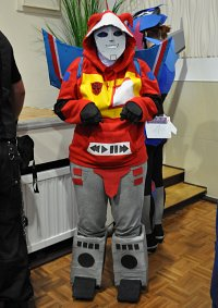 Cosplay-Cover: Blaster (Bot-Human)