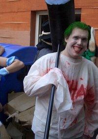 Cosplay-Cover: Joker (Arkham inmate version)