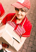 Cosplay-Cover: Aiichiro Nitori (Delivery Boy / Calendar art)
