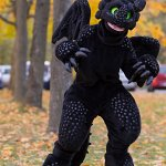 Cosplay: Toony Toothless