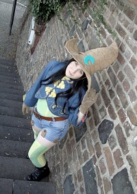 Cosplay-Cover: croma-final fantasy fables: chocobos dungeon