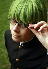 Cosplay-Cover: Midorima Shintarō [Schuluniform]