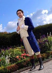 Cosplay-Cover: Alexander Hamilton (Independence War Uniform)