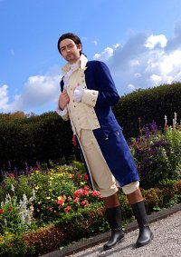 Cosplay-Cover: Alexander Hamilton (Independence War Uniform)