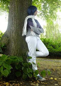 Cosplay-Cover: Ken Ichijouji (Winterversion)