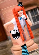 Cosplay-Cover: Miku Hatsune [Mrs. Pumpkin]