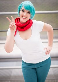 Cosplay-Cover: Bulma Briefs | DB Super