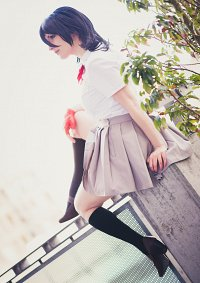 Cosplay-Cover: Rukia (Schuluniform)