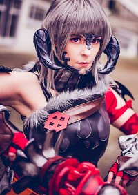 Cosplay-Cover: Au Ra Krieger (FF14)